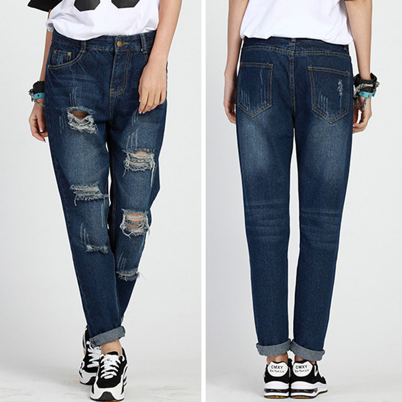 Compare Prices on Women Baggy Boyfriend Jeans- Online Shopping/Buy ...