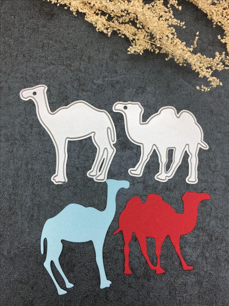Kamel form papier metall stanzen sterben für Scrapbooking/DIY hand-made album karte
