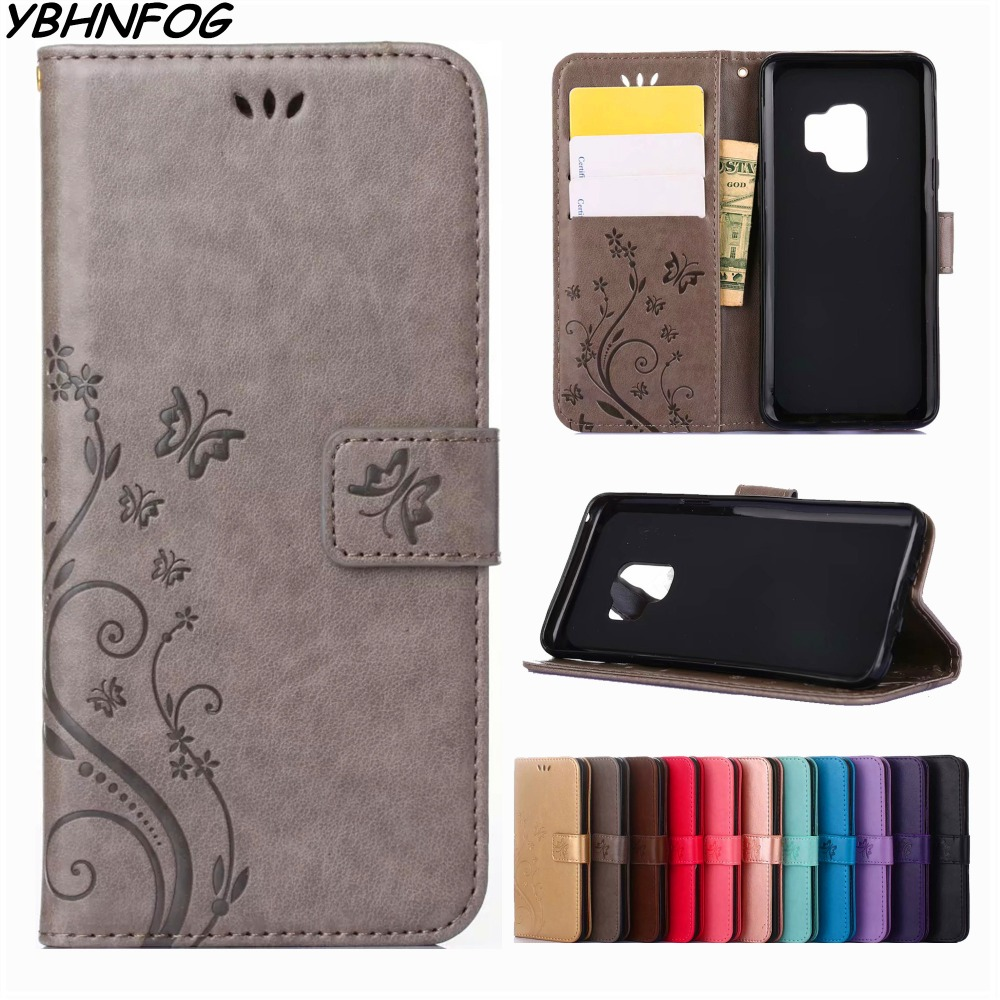 Wallet Phone <font><b>Case</b></font> For <font><b>Samsung</b></font> Galaxy S10e S8 S9 Plus S6 S7 Edge S3 S4 S5 Mini <font><b>Note</b></font> 4 <font><b>5</b></font> 8 9 Retro PU Leather <font><b>Flip</b></font> Bag Cover Coque image