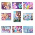 "Cartoon New Stand Leather Flip Cover Universal Case For 10"" Inch MID Tablet PC"