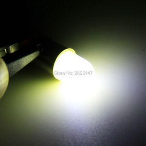Image 5 - 10 stücke Wärme durable T4W Led BA9S COB 30MA Runde 3D T11 363 1 SMD Auto Lizenz Platte Glühbirne für Auto Tür Lampe Weiß 12V