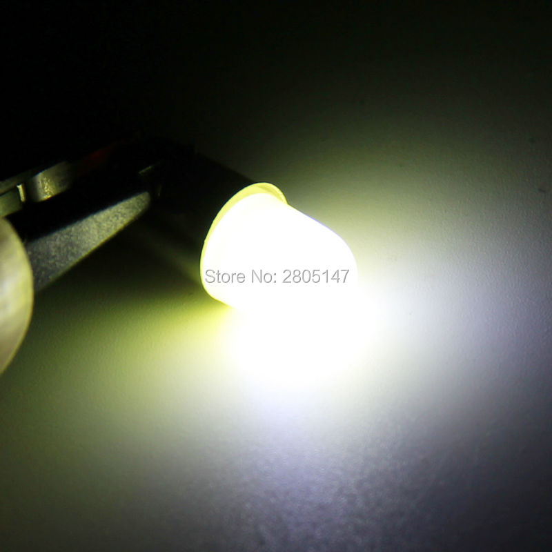 Image 5 - 10pcs Heat durable T4W Led BA9S COB 30MA Round 3D T11 363 1 SMD Car License Plate Light Bulb For Car Door Lamp White 12V-in Signal Lamp from Automobiles & Motorcycles