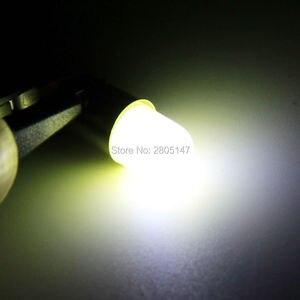 Image 5 - 10pcs Heat durable T4W Led BA9S COB 30MA Round 3D T11 363 1 SMD Car License Plate Light Bulb For Car Door Lamp White 12V