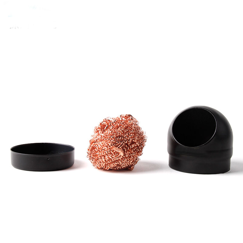 Metal Wire With Stand Set Soldering Sponges Solder Iron Tip Cleaner Steel Cleaning Wire Ball Heavy Duty Welding