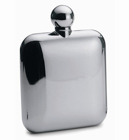 Free Shipping promotional Delicate Portable mirror face stainless steel hip flask for Men Valentine's day good choice gifts