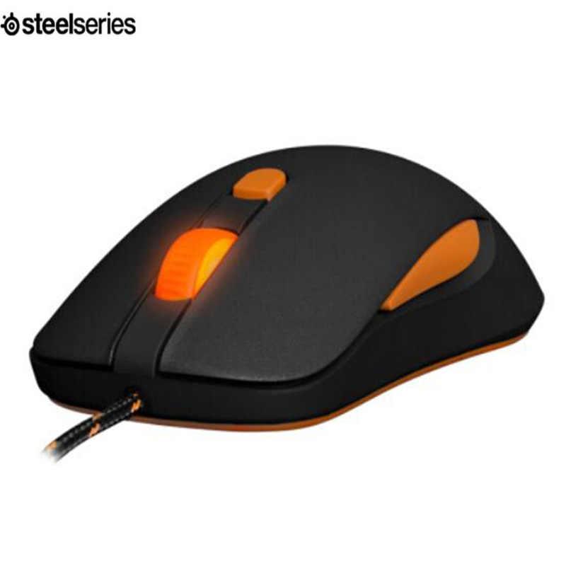 真新しいsteelseriesかなv2マウス光学式ゲーミングマウス&マウス人種コアプロフェッショナル光学ゲームマウス黒+マウスバッグ