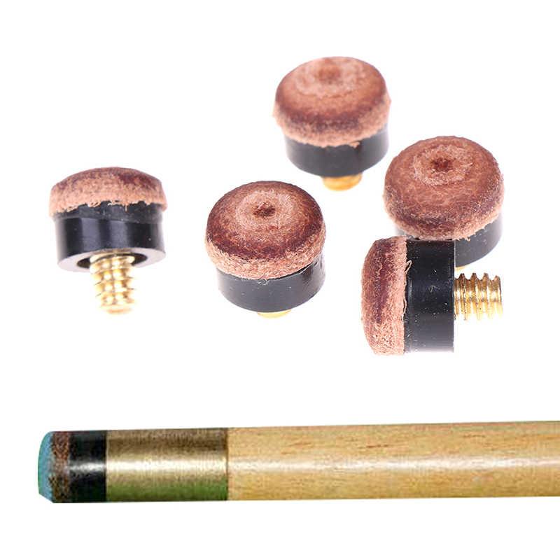 5 個ネジキューのヒントビリヤードプールのキュースティックとスヌーカーキュー交換部品スティック修復ツール