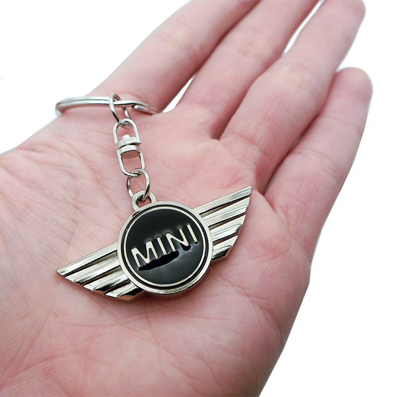 Car Pendant Alloy Car Keyring Keychain Key Chain Auto Key Ring Holder For Mini Cooper Countryman Cabrio Jcw Clubman r50 r53 r56 image