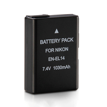SANGER EN-EL14 EN EL14 Battery for Nikon P7100 D5500 D5300 D5200 D3200 D3300 D5100 D3100 D3500 P7800 Camera EN-EL14A Battery en el14 battery charging cradle for nikon en el14 100 240v 2 flat pin plug