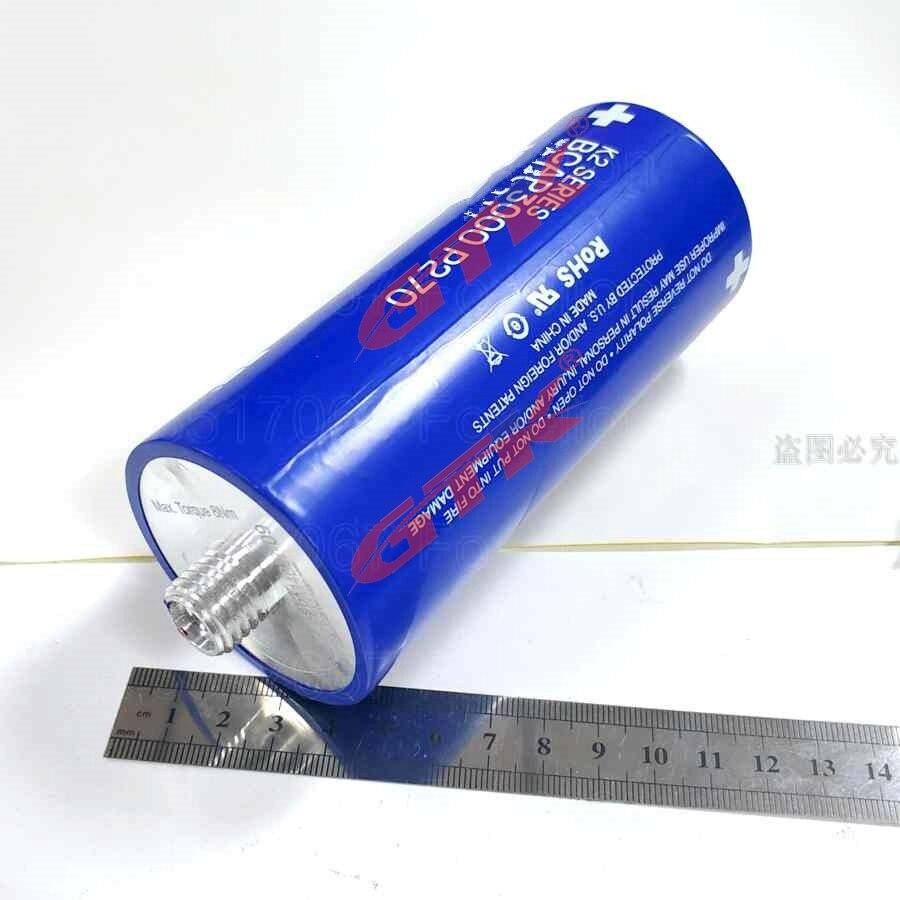 US $56 0  1pcs 2 7v 3000F Supercapacitor ultracapacitor Start Power Super  Farad Capacitor 2 5v 16v 2 7V DC rectifier car energy recovery-in