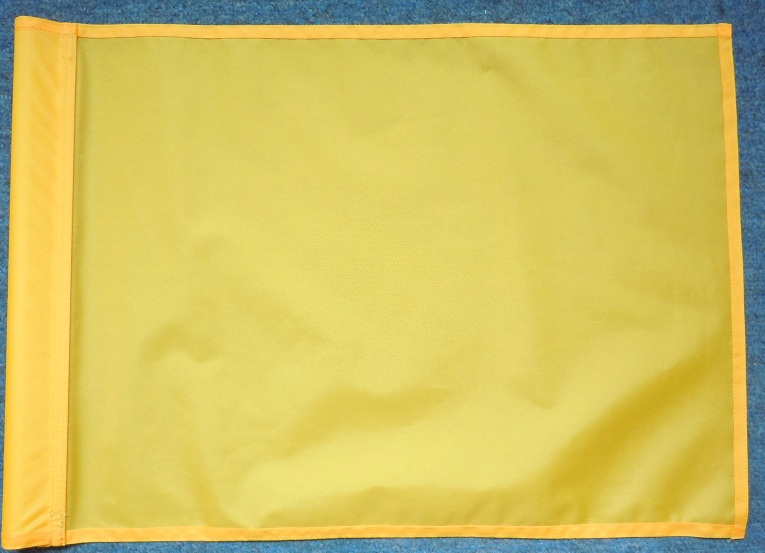 100% nylon windproof golf course flag colorful for choose