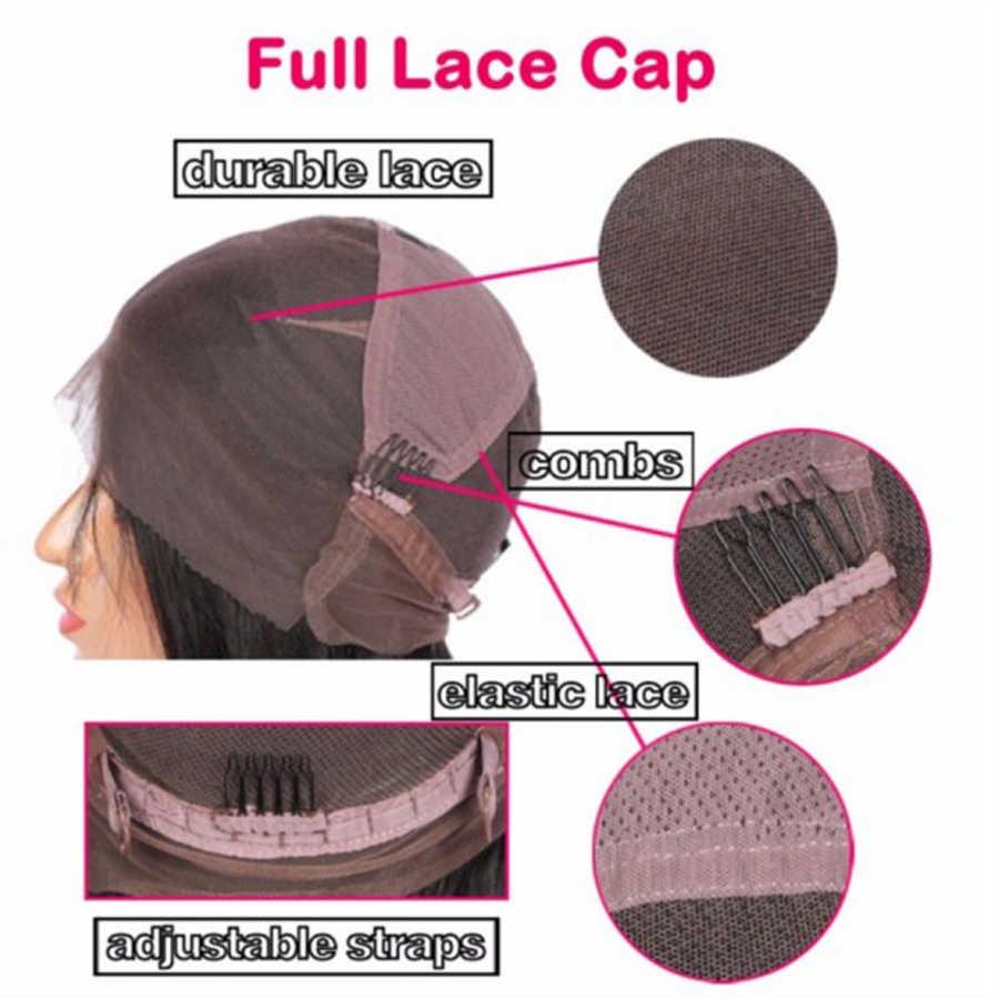 Sunnyмая 130% предварительно сорвал полный кружева человеческих волос парики с челкой короткий парик бразильский на сшивке для черных женщин волнистые полные парики шнурка