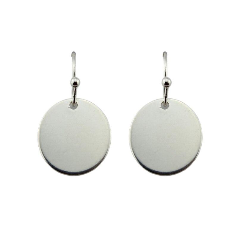 Wholesale Gold & Silver Designer Circle Earrings 2017 New Fashion Geometric Disc Drop Earrings Long Dangle Earrings for Women