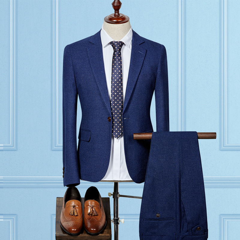Popular Royal Blue Suit-Buy Cheap Royal Blue Suit lots from China ...