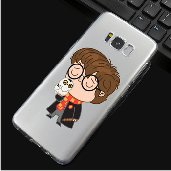 Harry Potter Phone Case for Samsung S Series Harry Kiss Owl  7