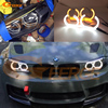 For BMW 1 Series E82 E88 E87 E81 2008 2009 2010 2011 Xenon Headlight DTM Style
