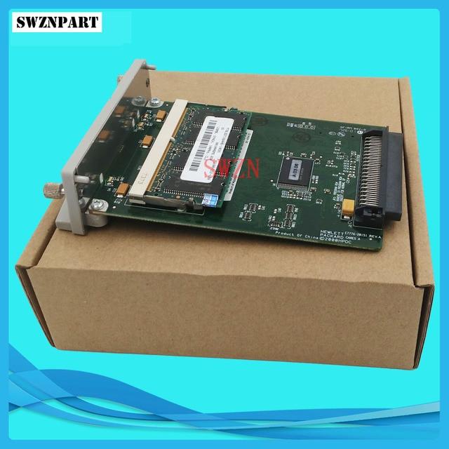C7776 60151 C7776 60002 C7772A para HP Designjet 500 500plus GL2 tarjeta formateadora tarjeta + 128M fijaciones 05:09 05:10 plóter de tinta