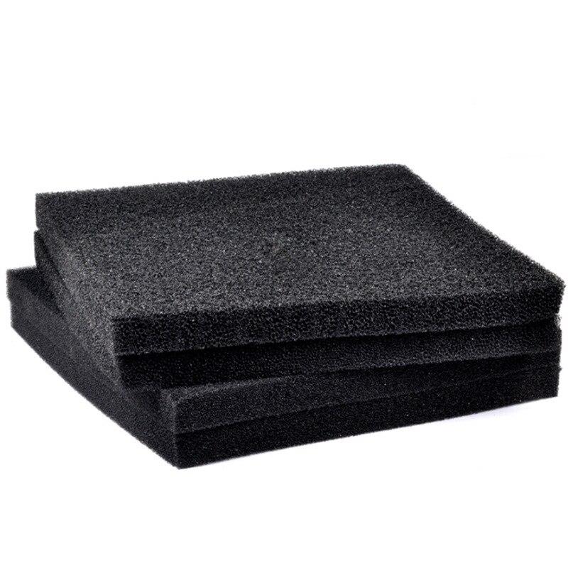 1 Piece 3 Sizes Black Filtration Foam Aquarium Fish Tank Biochemical Filter Sponge Pad Light Weight And Softness Design Fa004 #3