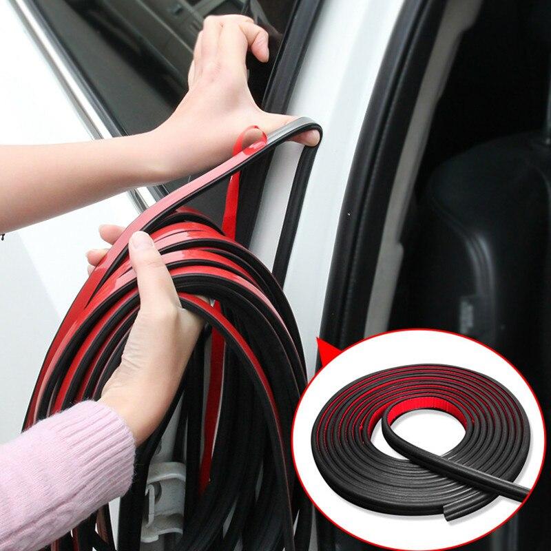 Автомобильная уплотнительная лента для дверей B, звукоизоляционная лента для Citroen C1 C2 C3 C4 C5 C6 C8 C4L Elysee Xsara CACTUS DS3 DS4 DS5 DS5LS DS6