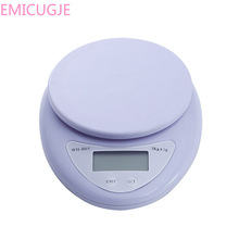 Weight Kitchen LED Electronic Scales 5kg/1g Portable Digital Scale LED Electronic Scales Postal Food Balance Measuring