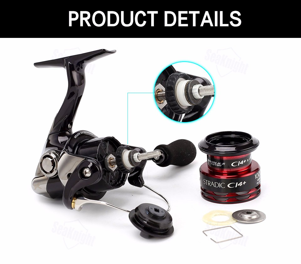 c60db6ab154 2016 new Original Shimano Stradic CI4+ 1000 FA Spinning Fishing Reel ...