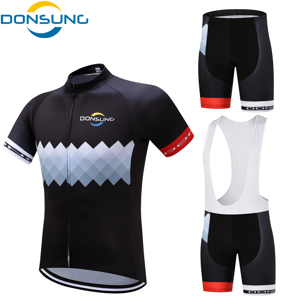 Cycling Jersey Sets 2017 Pro Team Men MTB Bicycle Cycling Clothing Short Sleeve Cycling Sets With 3D Gel Pad Outdoor Sport wears