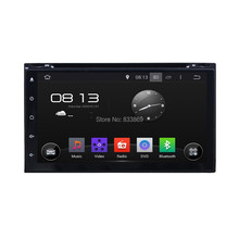 Universal Android 5.1 HD 2 din 6.95″ Quad core Car Radio DVD GPS With 3G Bluetooth IPOD USB DVR built-in wifi Capacitive screen