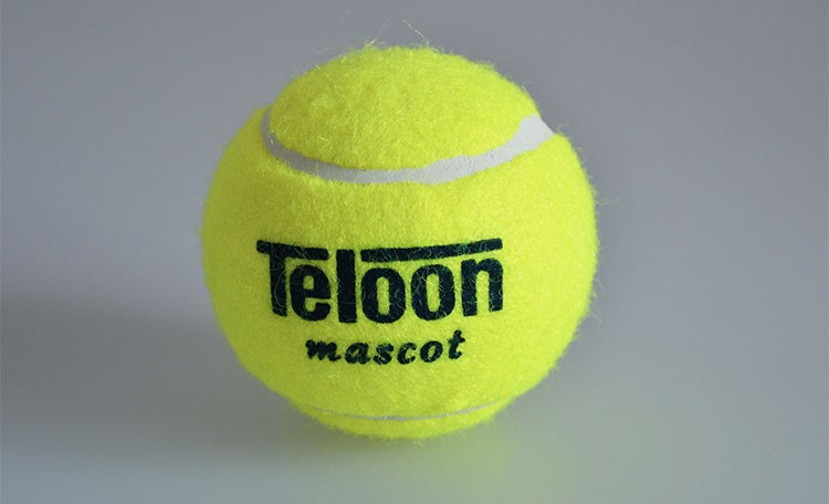 Brand Quality Tennis ball for training 100% synthetic fiber Good Rubber Competition standard tenis ball 1 pcs low price on sale