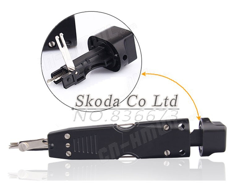 Free shipping 314BK Portable impact punch down tool used on KRONE 110 type 10 pairs Module Terminal Board Crimping Device