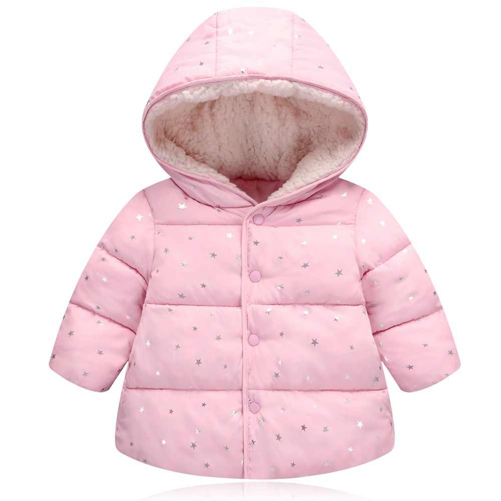 Little Girls Boys Outerwear Hoodie Jacket Winter Warm Coat
