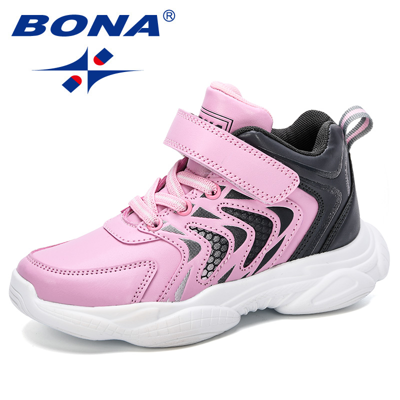 Lace Up Breathable Kids Walking Running Trainers Lightweight Boys Girls Athletic