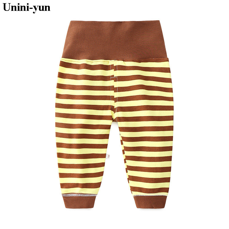 Casual Trousers Baby Pants Spring Cotton Baby leggings Kid Wear Infant clothes high Waisted Pants For Girls Boys newborn baby