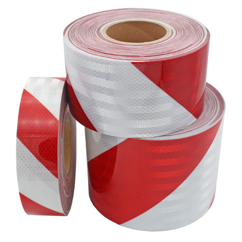 Twill Reflective Strips Road Construction Garage Anti-collision Warning Self-adhesive Tape Decorative Stickers Reflective Film