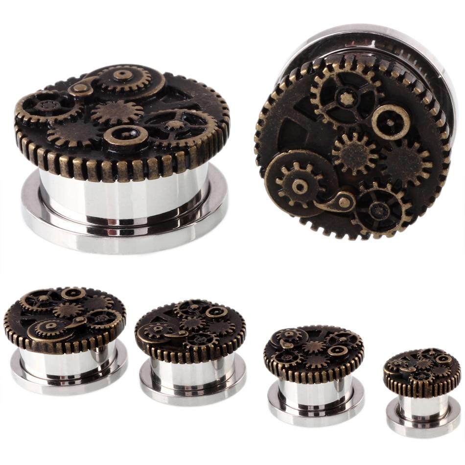 2PCS Steampunk Wheel Srew...