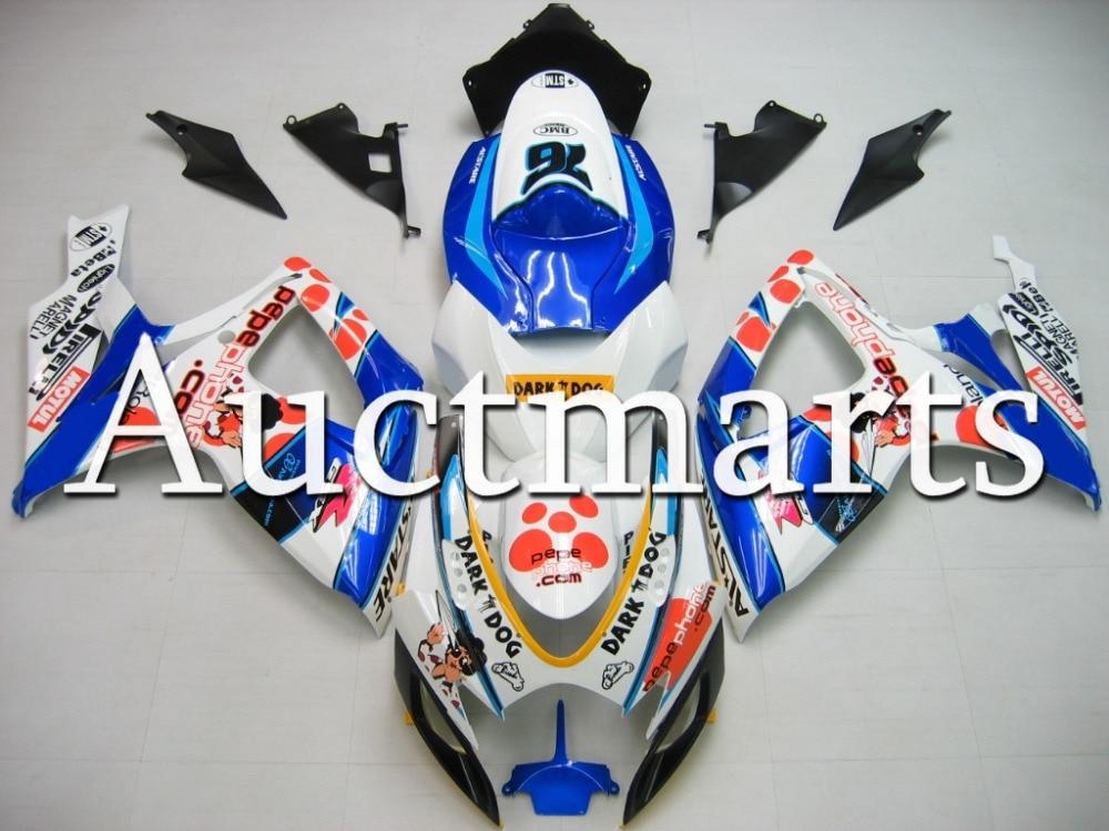 Fit for Suzuki GSX-R 750 2006 2007 ABS Plastic motorcycle Fairing Kit Bodywork GSXR750 06 07 GSXR 750 GSX R750 CB15
