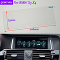 רכב סטיילינג 8.8 inch GPS ניווט מסך זכוכית מגן סרט מדבקה עבור BMW X3 X4 אביזרי שליטה של LCD מסך-במדבקות לפנים הרכב מתוך רכבים ואופנועים באתר