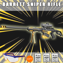 Barrett Rifle Manual launch Water gun airsoft air gun christmas gift Toy Guns Cosplay CS games