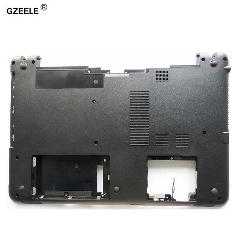 цена на GZEELE new Bottom Case FOR Sony vaio SVF152 SVF15 FIT15 SVF153 SVF1541 SVF152A29V Base Cover Series Laptop Notebook Computer D