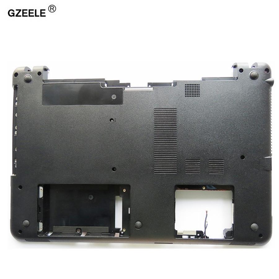 GZEELE New Bottom Case FOR Sony Vaio SVF152 SVF15 FIT15 SVF153 SVF1541 SVF152A29V Base Cover Series Laptop Notebook Computer D