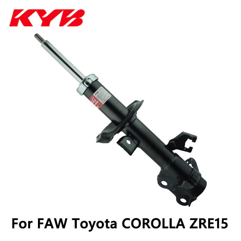 KYB front right car shock absorber 339066 EXCEL-G inflatable for FAW Toyota COROLLA ZRE15 auto part yatour car adapter aux mp3 sd usb music cd changer 6 6pin connector for toyota corolla fj crusier fortuner hiace radios