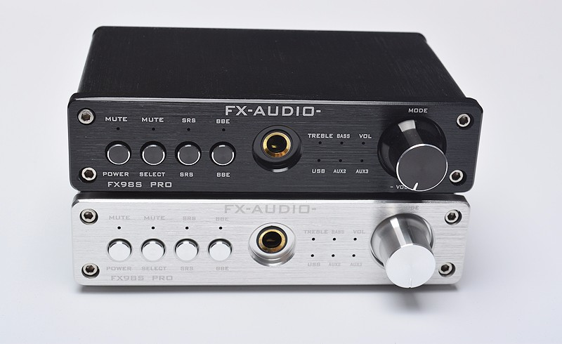 FX-Audio FX-98S sound effect EQ processor PRO upgraded version of the USB decoder DAC PCM2704 MAX9722+headphone amplifier dolby surround sound audio processor usb decoding dac pre amp usb sound card