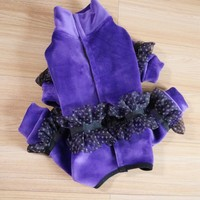 Pets Products Dogs Supplies Winter Warm Thick Fleece Clothes Girl And Boy Dogs Jumpsuits