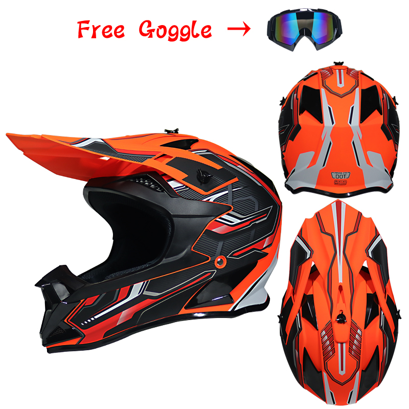 DOT aprovado capacete capacete off-road rosto cheio de moto rcycle DH downhill bicicleta kask capacete moto cross cascos pará moto