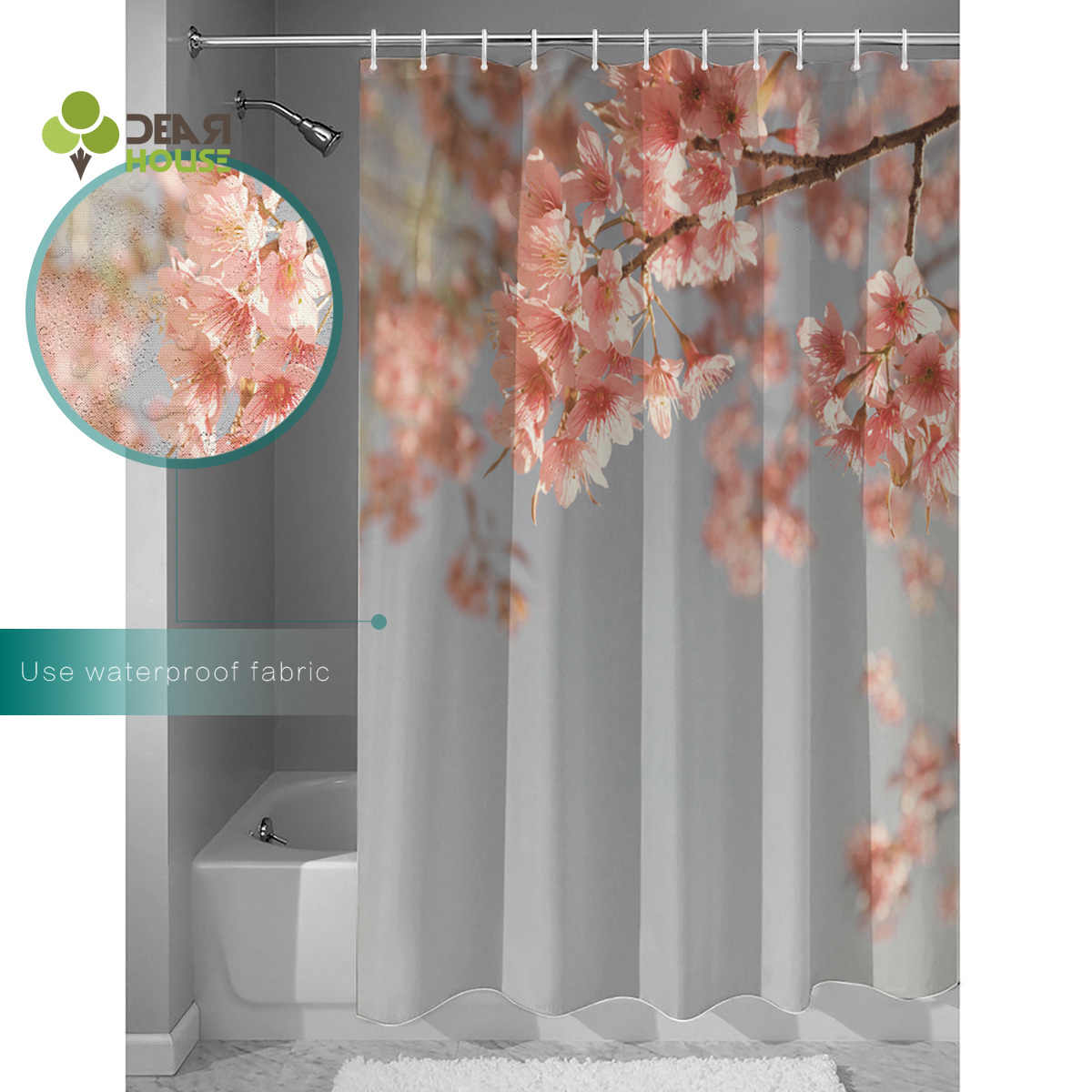 Cherry Blossom Bathroom Accessory Sets