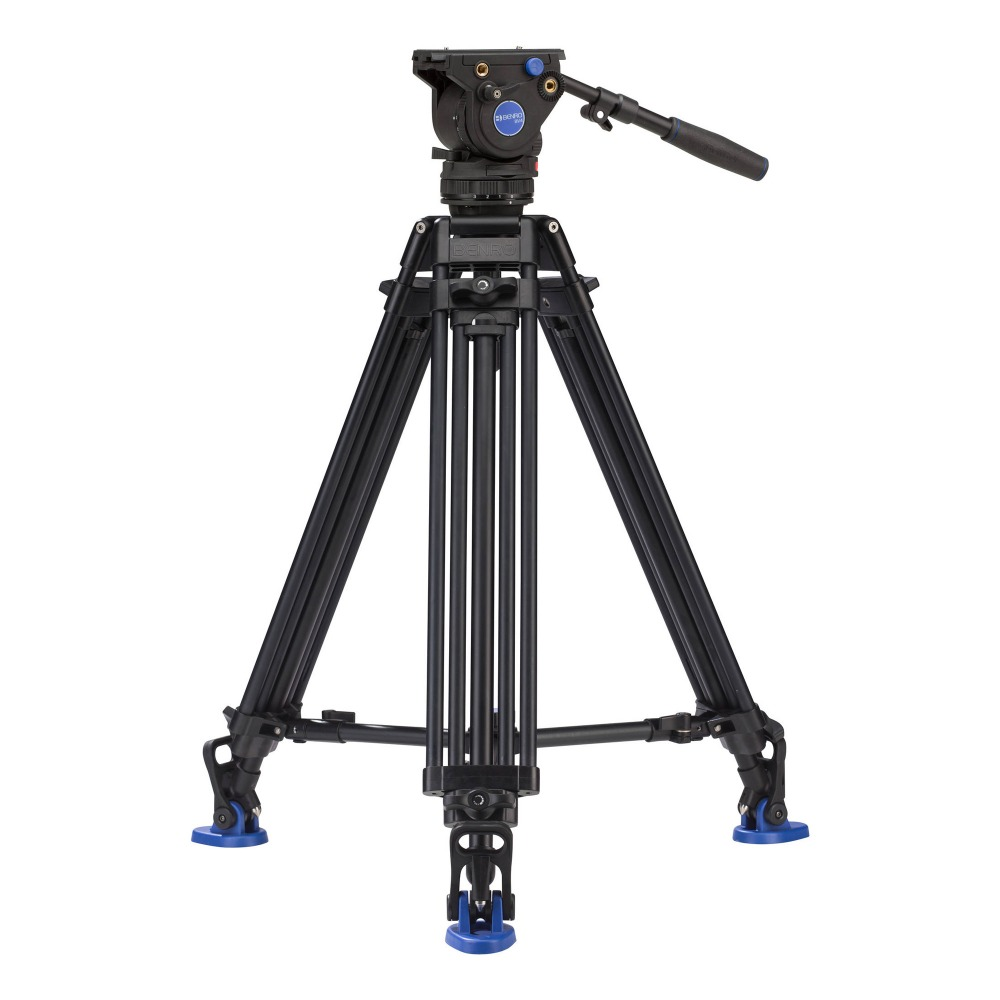 New Film Tripod Video Camera Stabilizer benro bv4 Professional Support For Television Camcorder Aluminum High Quality new sys700 aluminum professional tripod