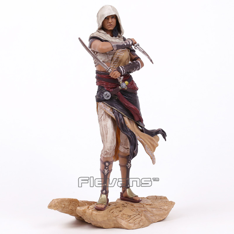 Assassins Creed Origins Aya Statue PVC Figure Collectible Model Toy neca 7 assassins creed altair ezio action figure pvc doll model collectible toy gift