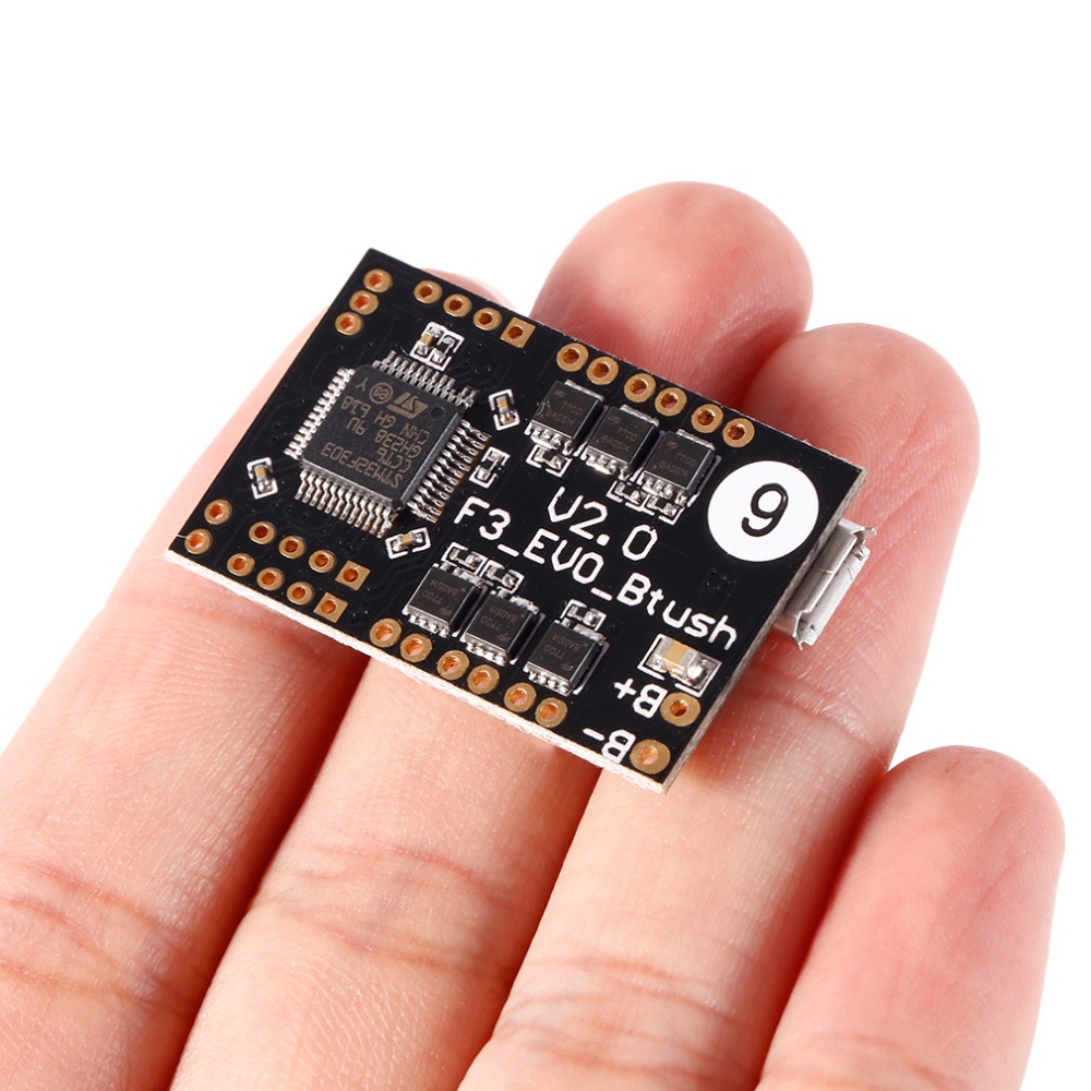 SP F3 EVO V2.0 Brush Flight Control Board For Small 90mm 120mm 125mm FPV Micro RC Better Than 32-bit Scisky