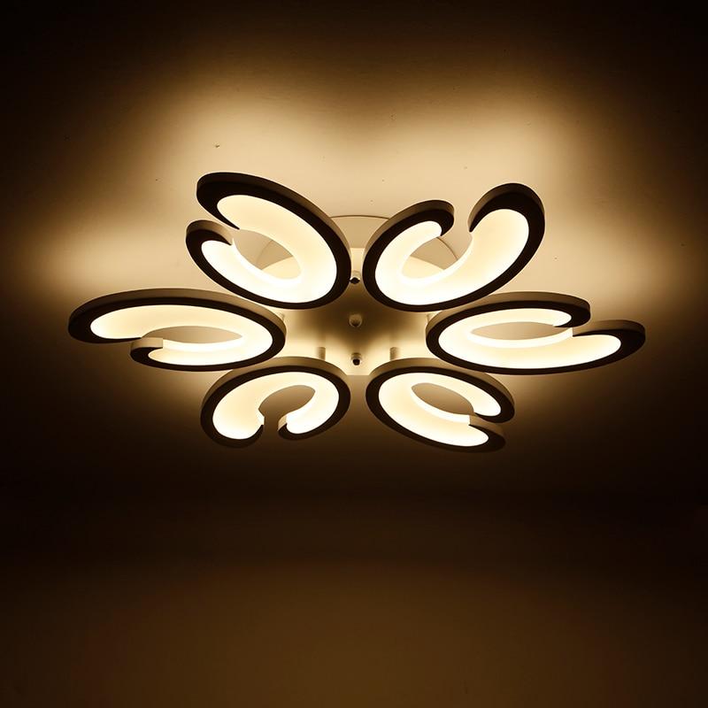 Modern Ceiling Lights Led Light Diy Led Ceiling Lights Panel Acrylic ...