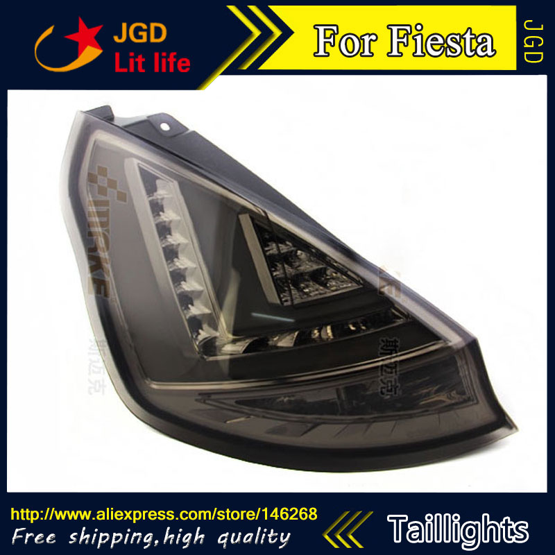 Car Styling tail lights for Ford Fiesta 2009-2013 L