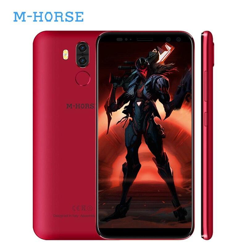 Origional M-Horse Pure 3 4G LTE 5.7 Inch 18:9 Android 7.1 Smartphone Dual Sim MT6737 Octa Core 4GB+64GB 4000mAh Mobile Phone